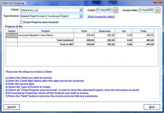 The Screen Above Is What You Will Get From The Invoices Dashboard, When You  Ask To Create A New Invoice.  Creat Invoice